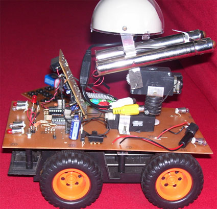 intelligent combat robotic project