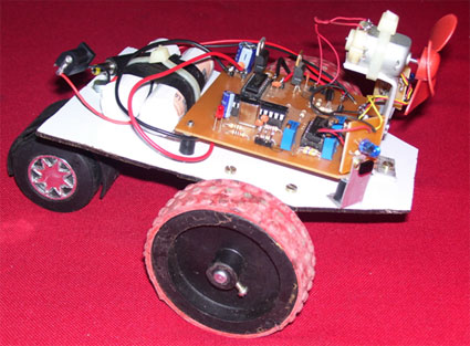 Smart buggie / robot Side view