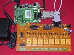 Sms Controlled Multipurpose Isolated I/O board 8 output / 4 input